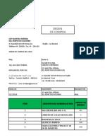 ORDEN DE COMPRA 001- 2019 CEPNSPS