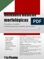 Unidades básicas morfológicas
