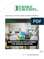 Innovations in PCB Assembly for Modern Medicine