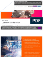 Content Moderation Solutions India