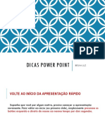 Dicas PowerPoint