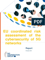EU risk assessment cybersecurity 5G networks