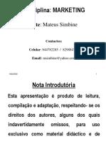 Marketing - Escola do  Jornalismo