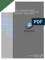 09 - (Tabelas) Importacao de tabela de referencia - Mat_Med