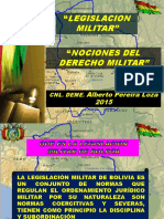 nociones del derecho militar