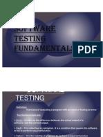 Fundamentals of Testing