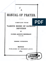 A Manual of Prayer, Compiled from Various Books of Catholic Devotion