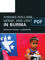 Burma Report;Finding Dollars, Sense, and Legitimacy in Burma