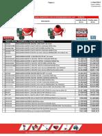 Lista de precios 1 de abril 2016