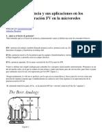 El factor de potencia y sus aplicaciones en los sistemas de generación FV en la microredes eléctricas