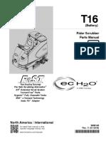 Tennant T16 Parts Manual