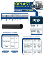 110 HDPE SDR 21  PN 8