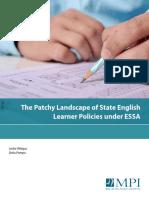 ESSA and English-Language Learners