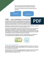 Java Database Connectivity (1)