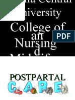 Postpartal Care