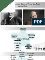 Perbandingan teori Sigmund Freud dan Teori aeron  Beck.pptx
