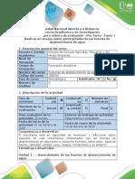 Guía de actividades y Rubrica de Evaluación -Tarea 1- Ensayo