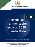 18 MENUS ESCOLARES 2020 SANTA ROSA.pdf