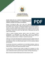 NP Balance de Visita de CIDH en la frontera colombo-venezolana