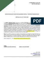 CERTIFICADOS PARAFISCALES CONSORCIO CALLE 46 (formato)