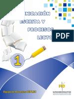 CARTILLA 01 COMUNICACIÓN ESCRITA Y PROCESOS LECTORES UNIMINUTO.pdf