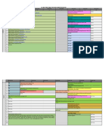 B Arch Time Table - Even Semester 2020