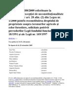 Decizia n1289 2009