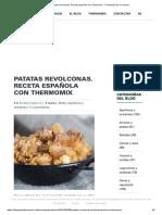 Patatas revolconas. Receta española con Thermomix - Thermomix por el mundo