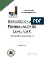 Introducción a la programación en C