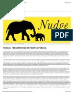 Nudges, herramientas de política pública - Agenda Pública