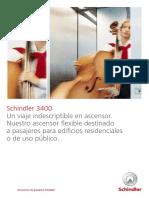 Catalogo Schindler 3400