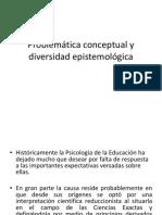Problemática conceptual y diversidad epistemológica