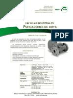 ADCA - Mod. FLT14l DN40-50 Purgadores de boya y termostáticos