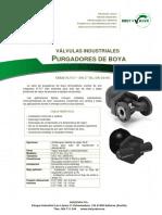 "ADCA - Mod. FLT17 DN 2""HC-DN 50HC Purgadores de boya y termostáticos"