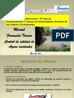 Manual para control de calidad de aguas residuales