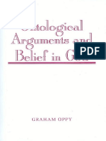 Graham Oppy - Ontological Arguments and Belief in God-Cambridge University Press (1996)
