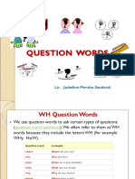 QUESTION WORDS (2)