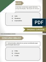 GINCANA BÍBLICA - ENIGMAS.pptx