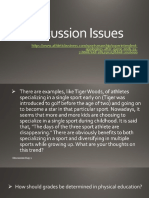 Discussion Issues in HPER