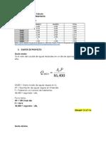 PRE-PROYECTO DE ABASTECIMIENTO DE AGUA