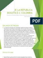 BANCO DE LA REPUBLICA diapositivas