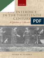 Interdict in the Thirteenth Century