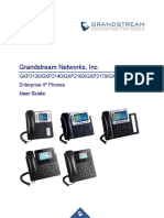 GRANDSTREAM GSP 2130 USERS GUIDE