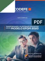 TRANSFORMANDO LAS ENTIDADES EDUCATIVAS CON EL MODELO EFQM 2020 - CODEFE-1-2