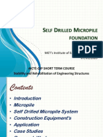 Self Drilled Micropile foundation.pptx