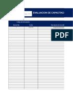 SST-FO-013 Evaluación Capacitación y Entrenamiento