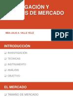 INVESTIGACION DE MERCADOS I