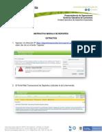 INSTRUCTIVO MODULO REPORTES PORTAL WEB BANCO AGRARIO