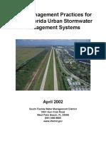 Best Management Practices for South Florida Urban Stormwater Management Systems - South Florida Water Management District (April 2002)