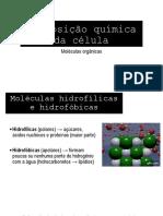 Moléculas orgânicas